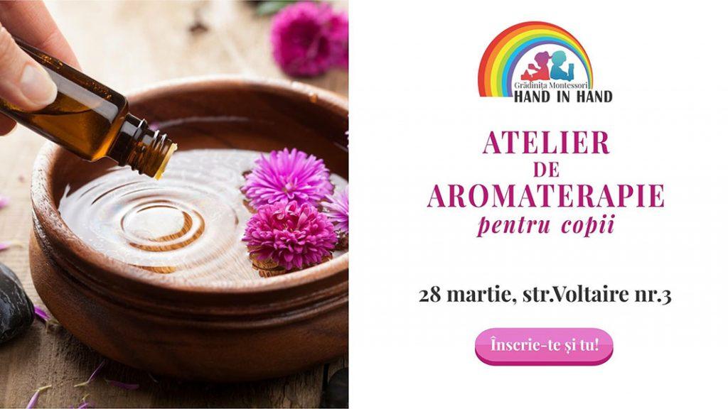 Atelierul de Aromaterapie pentru copii – un spațiu pentru sănătate