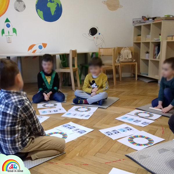ateliere de percutie pentru copii