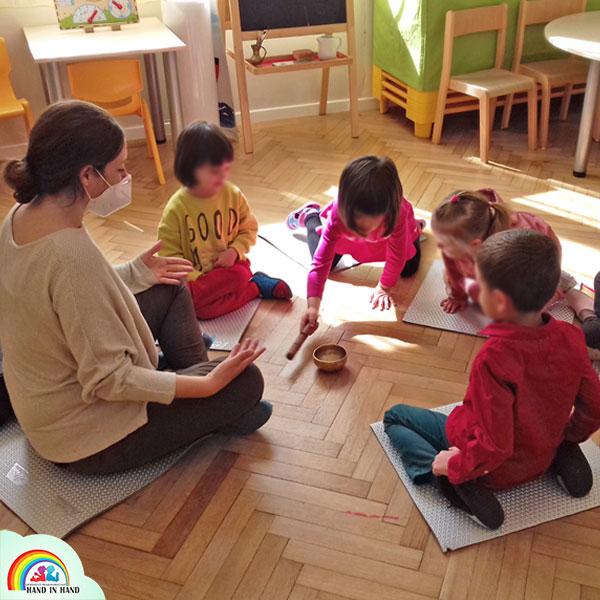 atelier mindfulness copii gradinita